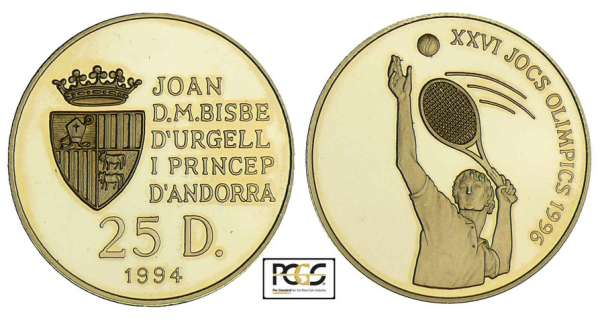 Andorre - 25 diners 1994