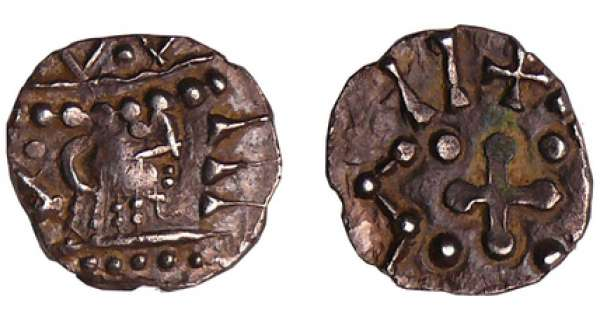 Anglo-Saxon - Continental issues - Sceatta (695-740)