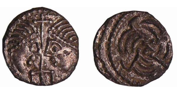Anglo-Saxon - Secondary phase, serie J 'York' - Sceatta (710-760)