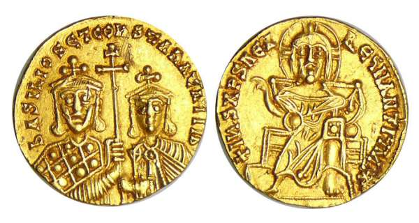 Basile Ier - Solidus (868-886, Constantinople)