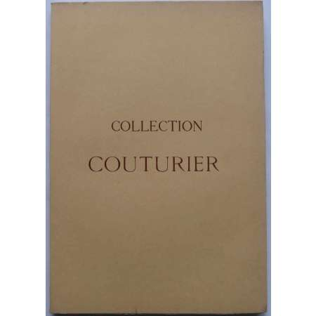 Catalogue de la Collection Couturier - Avril 1930 Catalogue de vente de la collection Couturier. Monnaies antiques, monnaies françaises, médailles et jetons. 94 pages et 16 planches photographiques.