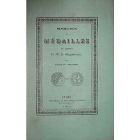 Catalogue des mdailles antiques de la collection De Magnoncour - 1840
