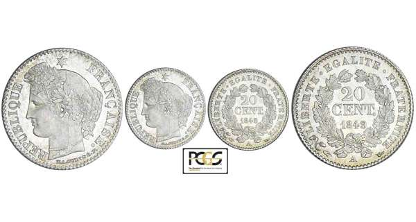 20 centimes Cérès - 1849 A (Paris)