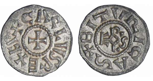 Charlemagne (768-814) - Denier (Bourges)