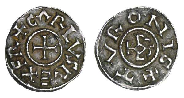Charlemagne (768-814) - Denier (Tours)