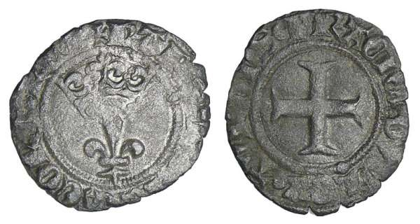 Charles VI (1380-1422) - Double tournois Niquet - Arras