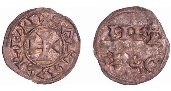 Charles III Le Simple (898-923) - Obole (Melle)