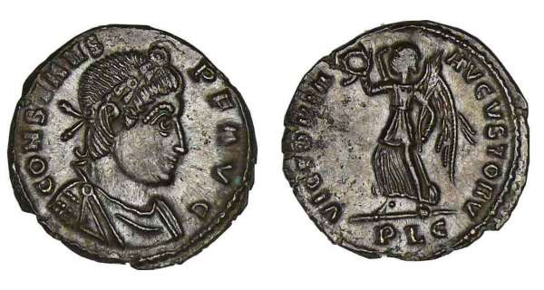 Constans - Nummus (337-350, Lyon)