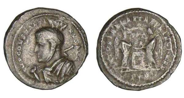 Constantin 1er - Argenteus (313, Trves)