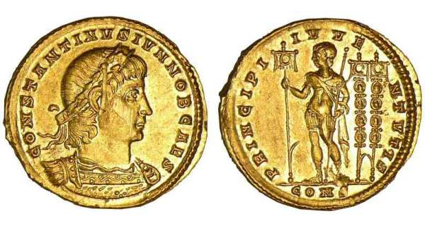 Constantin 1er - Solidus (306, Constantinople)