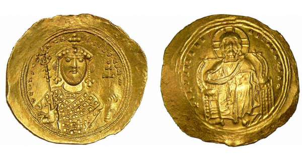 Constantin IX - Nomisma histamnon (1042-1055, Constantinople)