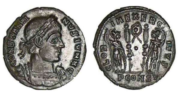 Constantin II - Nummus (330-333, Arles)