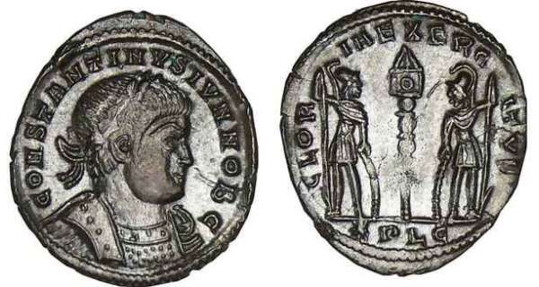 Constantin II - Nummus (330-333, Lyon)