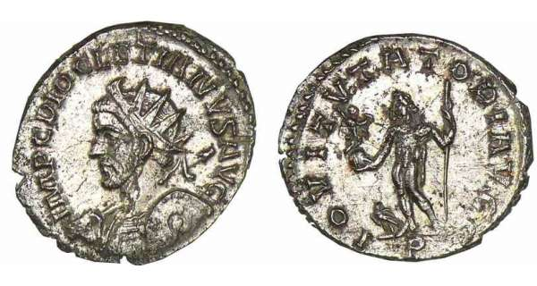 Diocltien - Aurlianus (287-289, Lyon)