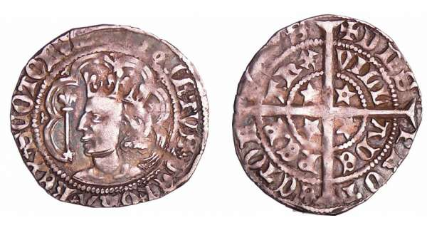 Ecosse - Robert II (1371-1390) - Halfgroat (Perth)