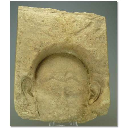 Egypte - Basse poque - Fragment de bas relief en calcaire - 663-330 av. J.-C.