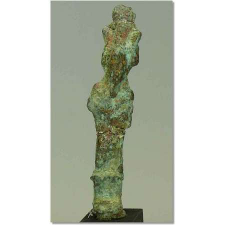 Egypte - Basse poque - Statuette d'Isis en bronze - 663-330 av. J.-C.