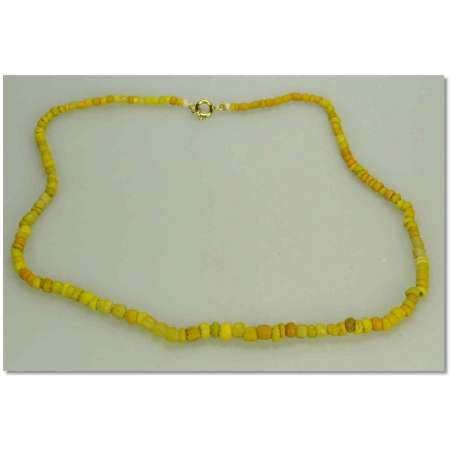 Egypte - Collier en perles silices - 663-332 av. J.-C.