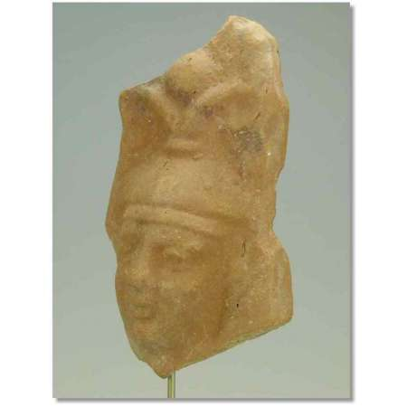 Egypte - Epoque romaine - Masque en terre cuite - Ier av. .J.-C. - Ier ap. J.-C.
