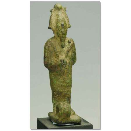 Egypte - Statuette d'Osiris en bronze - 663-332 av. J.-C.