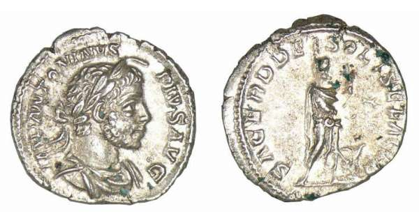 Elagabal - Denier (221/222, Rome)