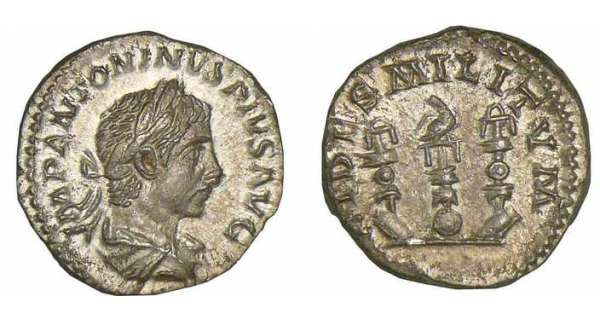 Elagabal - Denier (221-222, Rome)