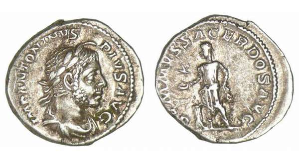 Elagabal - Denier (221, Rome)