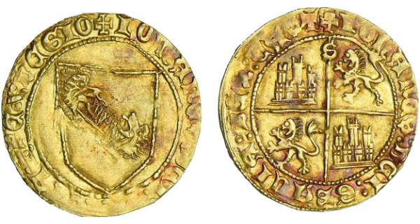 Espagne - Castille et Lon - Juan II - Dobla de la Banda (Sville)