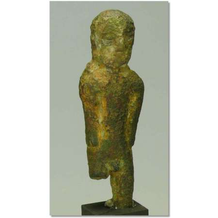 Etrusque - Sardaigne - Statuette en bronze - Vme-IIIme av. J.-C.