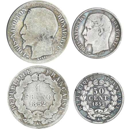 1 franc et 50 centimes 1852 A (Paris)