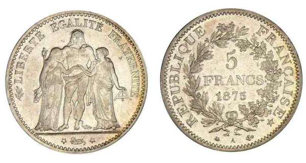 monnaie de paris 5 francs
