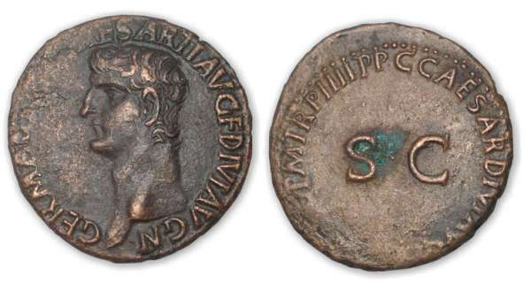 Germanicus - As ((40-41, Rome) Restitution de Caligula