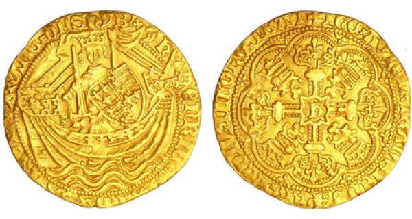 Grande-Bretagne - Henry V (1413-1422) - Noble d'or (Londres)