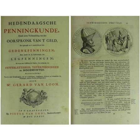 Hedendaagsche Penningkunde - Gerard Van Loon 1734