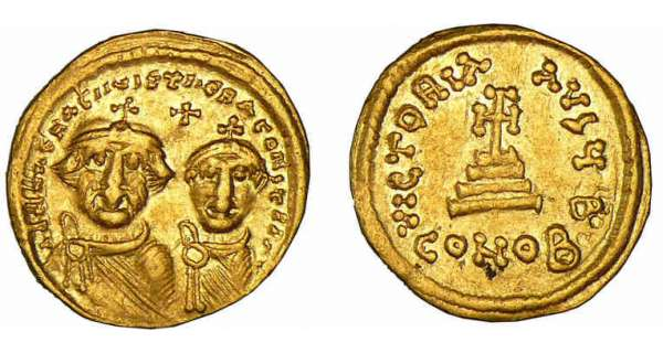 Hraclius - Solidus (610-641, Constantinople)