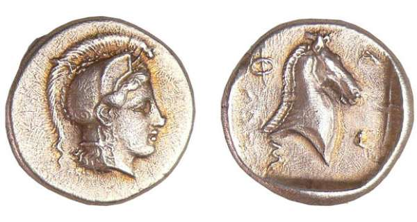 Ligue Thessalienne - Pharsalos - Hemidrachme (480-450 av. J.-C.)