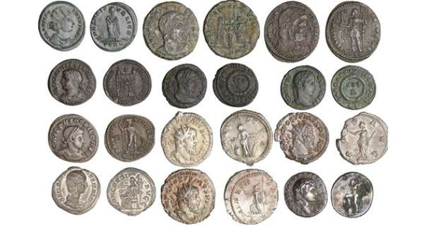 Lot de 12 monnaies romaines
