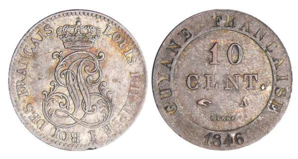 Louis-Philippe 1er (1830-1848) - 10 centimes 1846 A (Paris)
