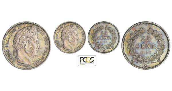 Louis-Philippe Ier (1830-1848) - 25 centimes 1846 W (Lille)