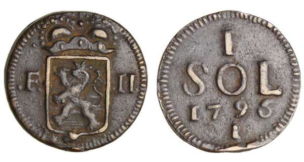 Luxembourg - Sol 1795