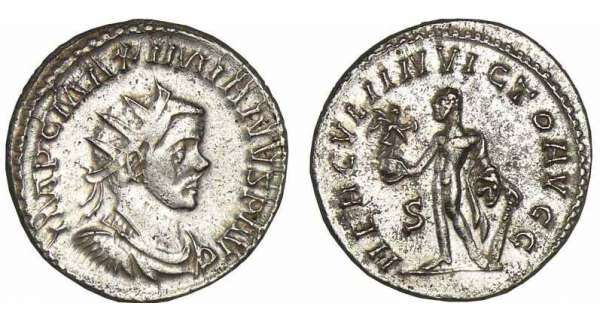 Maximien Hercule - Aurlianus (287-289, Lyon)