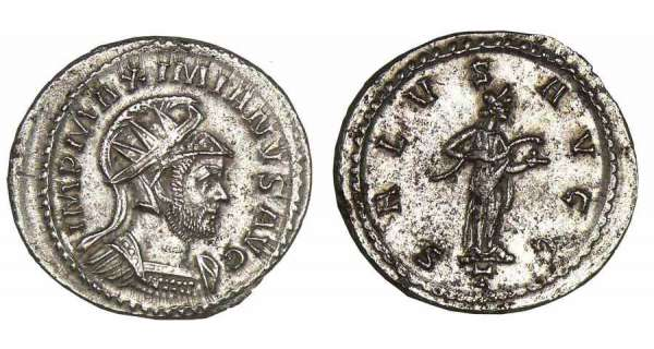 Maximien Hercule - Aurlianus (290-291, Lyon)