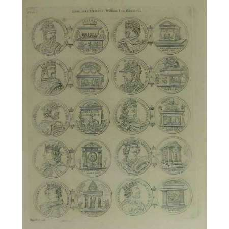Medallic history of England - 1802