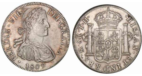 Mexique - Ferdinando VII - 8 reales - 1809 TH (Mexico)