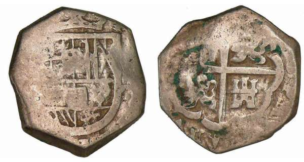 Mexique - Philippe IV - 4 reales