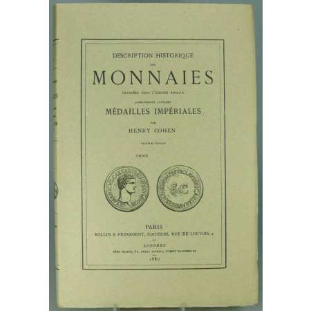 Monnaies romaines - Cohen Tome 5 - 1880
