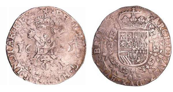 Pays-Bas - Philippe IV (1621-1665) - Patagon 1625 (Maastrich)