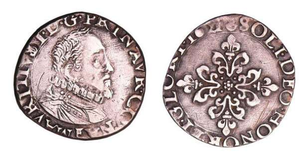 Principauté d'Orange - Maurice de Nassau - Demi-franc 1621 (Orange)