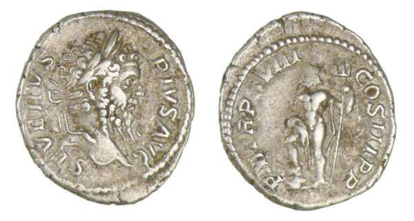 Septime Svre - Denier (210, Rome) Jupiter
